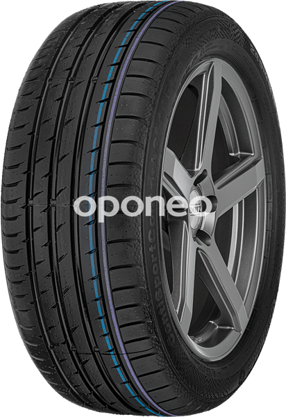 Continental Run Flat Tires >> Continental Contisportcontact 3 E 245 45 R18 96 Y Run On Flat